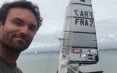 Des nouvelles de Benoit : championnat de France de moth à foil ce week end !
