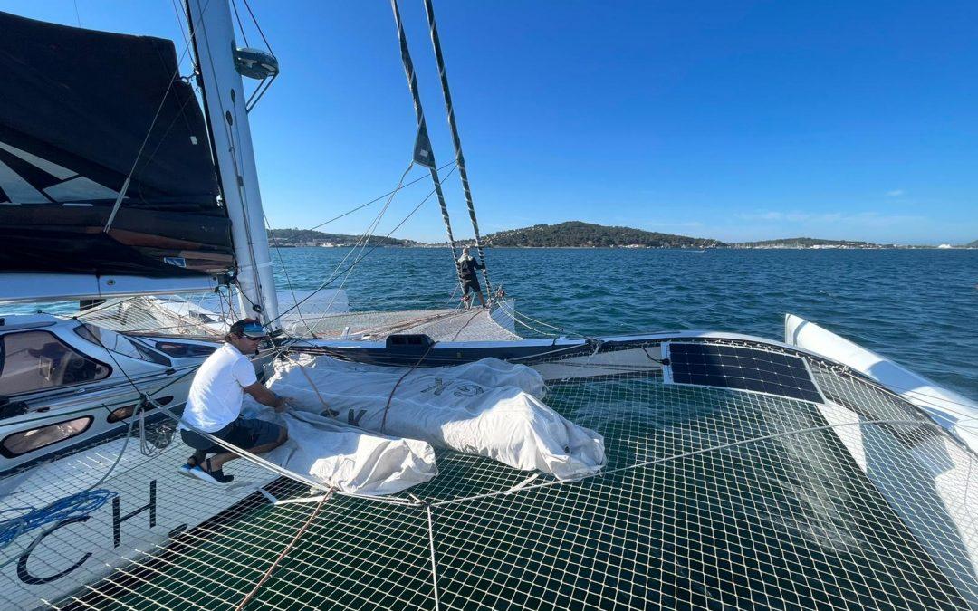 Départ du Pro Sailing Tour